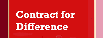 Contracts for differences cfd